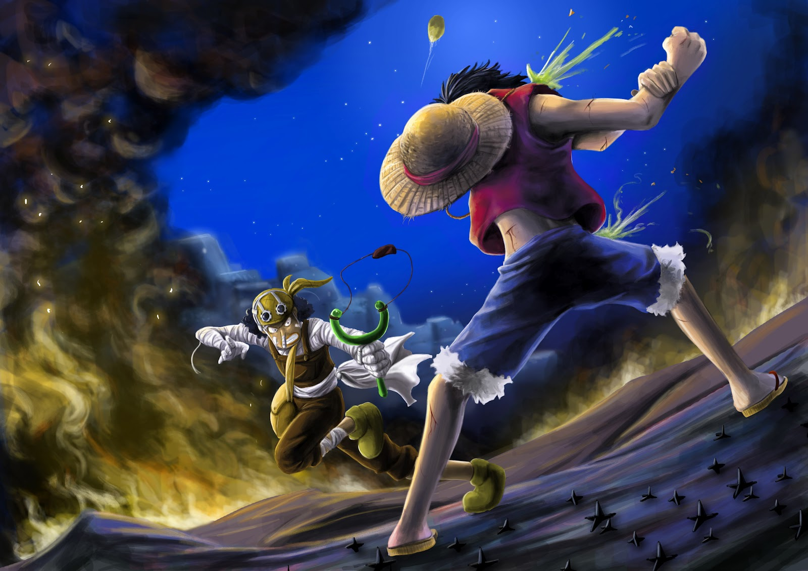 One Piece HD & Widescreen Wallpaper 0.454793060880252