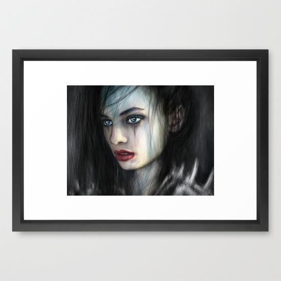 Framed prints from Society6