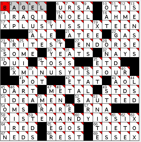 Rex Parker Does The Nyt Crossword Puzzle Composer Siegmeister