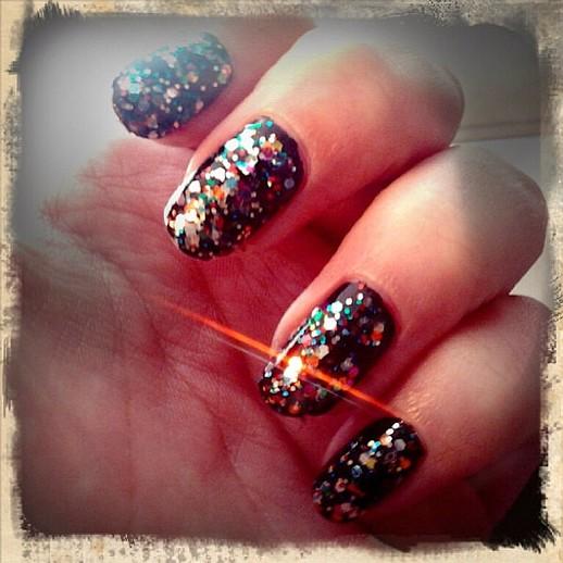 nails Combinações Spring Color, Toneladas de brilho