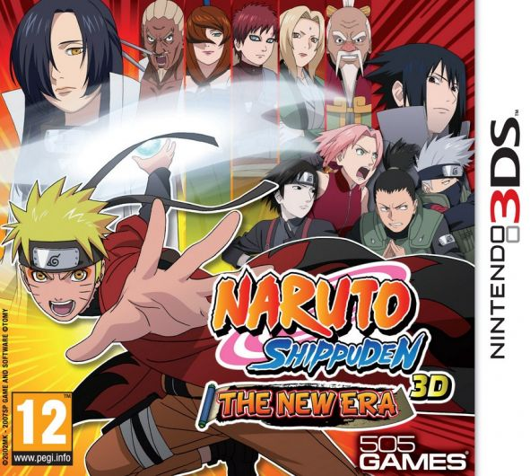 descricao naruto shippuden 3d the new era foi anunciado primeiramente ...