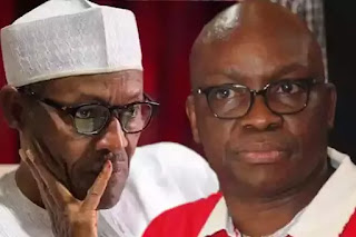 """President Buhari Is Not Fighting Any Corruption, His Government Is A Double Standard"""" – Fayose Gives Reasons"""