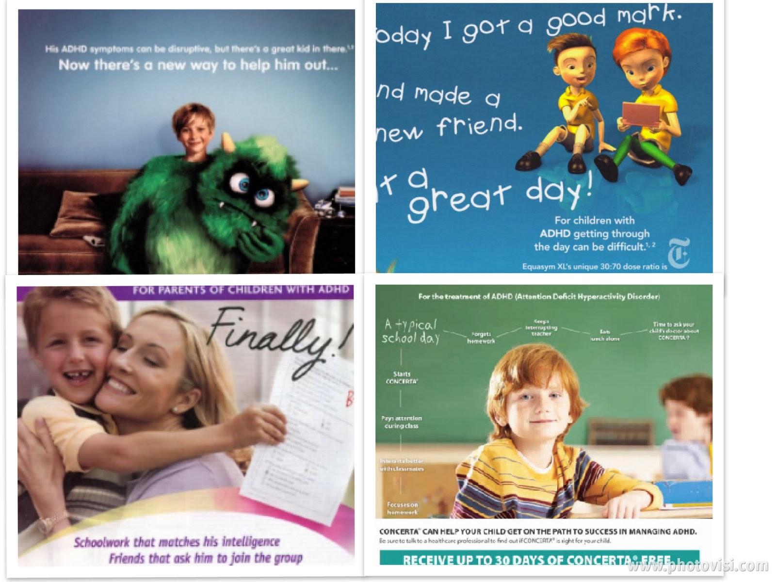 Vídeo sobre la publicidad para la venta de fármacos para el tratamiento del TDAH