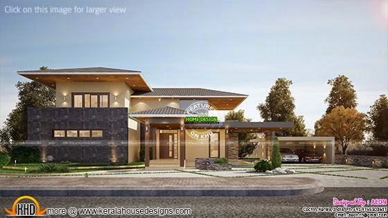 new house plans for april 2015 keralahousedesigns