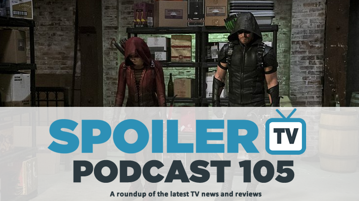 STV Podcast 105 - The weeks TV reviews including The Walking Dead