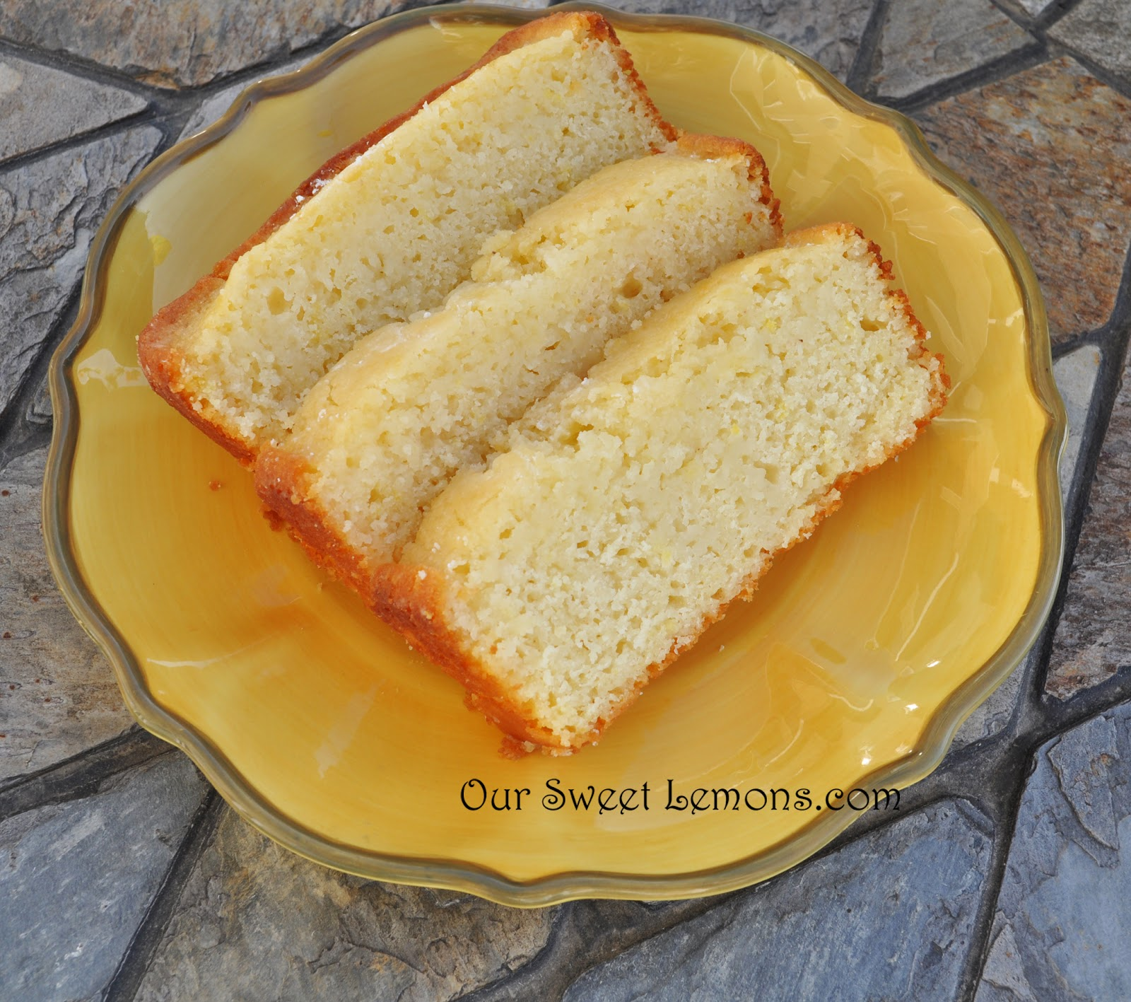 Our Sweet Lemons: Sweet Lemon Bread