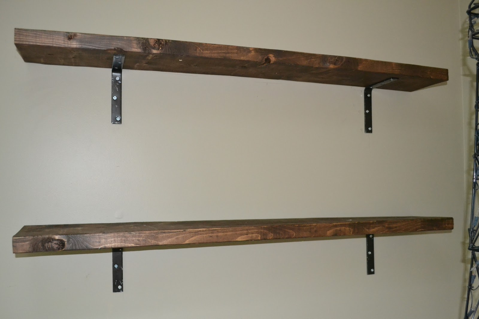 Homemade Shelves | www.woodworking.bofusfocus.com