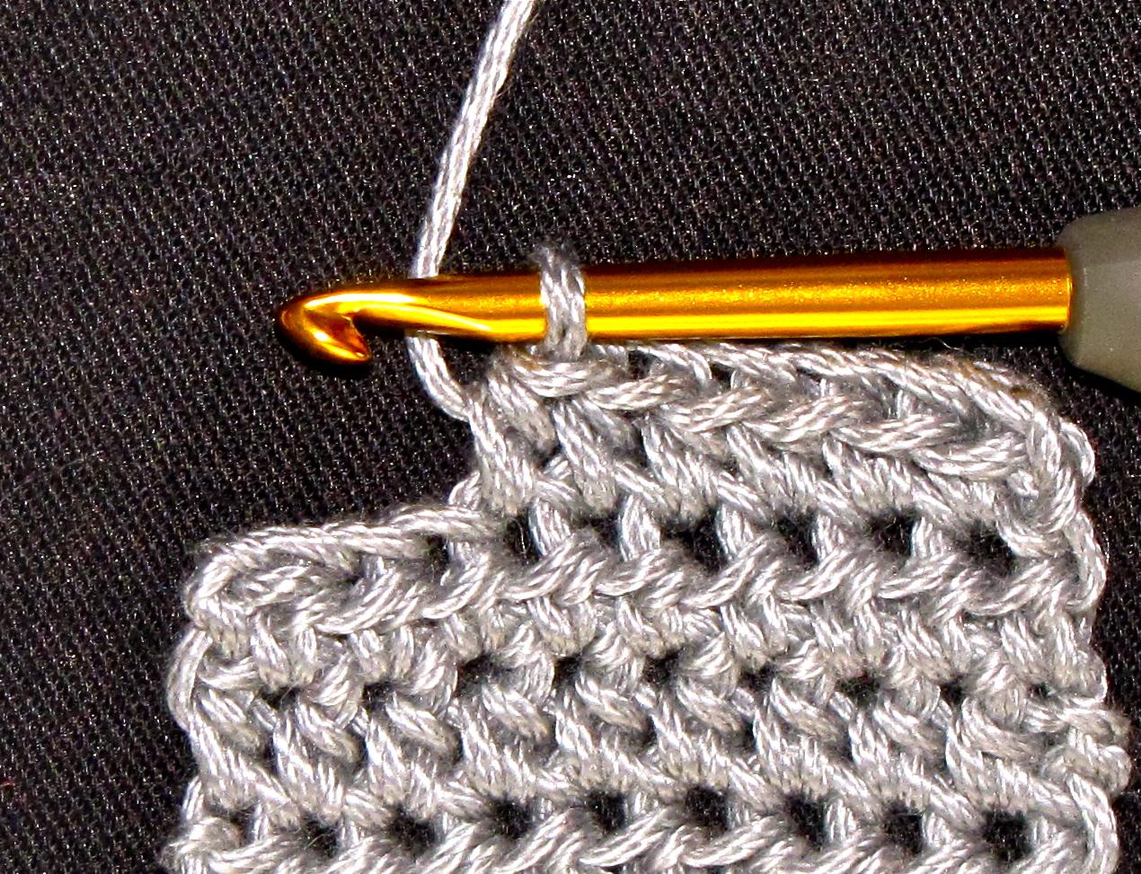 ... Crochet Pattern Companion: That Tricky Half Double Crochet Stitch (hdc
