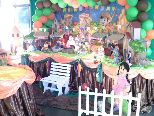 Tema Festa Junina para festa de aniversário infantil