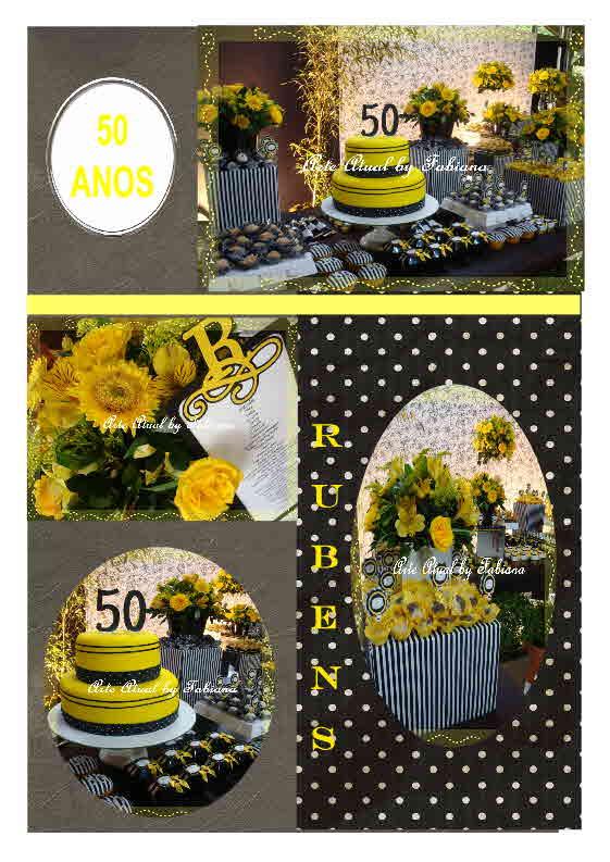 Decoração Aniversario 50 Anos Feminino Decoração Aniversário 50 Anos