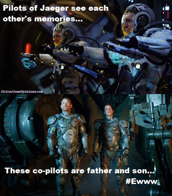 Pacific Rim Jaeger pilots drift movie still meme