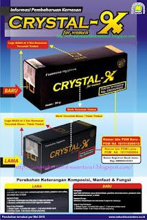 Ciri'' Crystal X terbaru 2015
