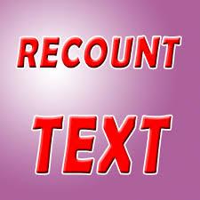 Recount Text dan Contohnya Serta Penjelasannya