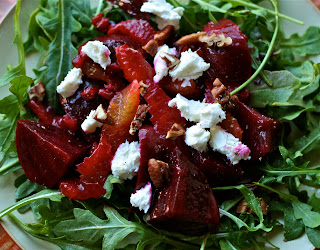 Beet Salad with Orange-Tangerine Vinaigrette
