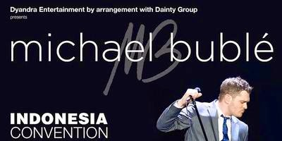 michael bubble will be a concert in indonesian