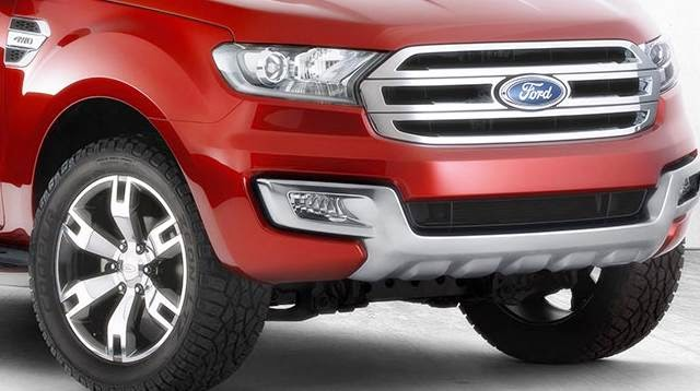 New Ford Everest Concept