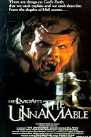 The Unnamable 1988 cover