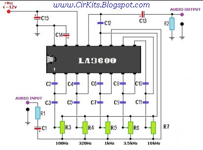 Схемы ламповых эквалайзеров