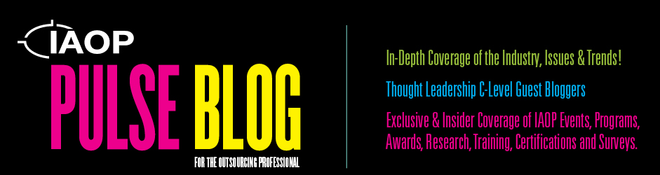 PULSE: IAOP's Blog Driven by and for Outsourcing Professionals