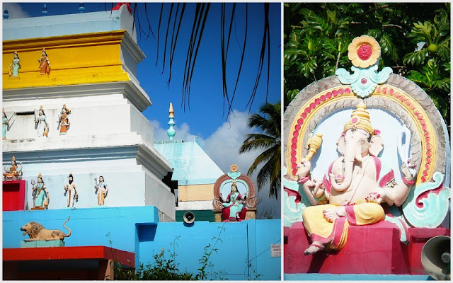 Guadeloupe -temple indien de Changy