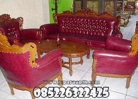 sofa tamu jati jepara