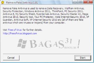 Remove Fake Antivirus 1.81 2