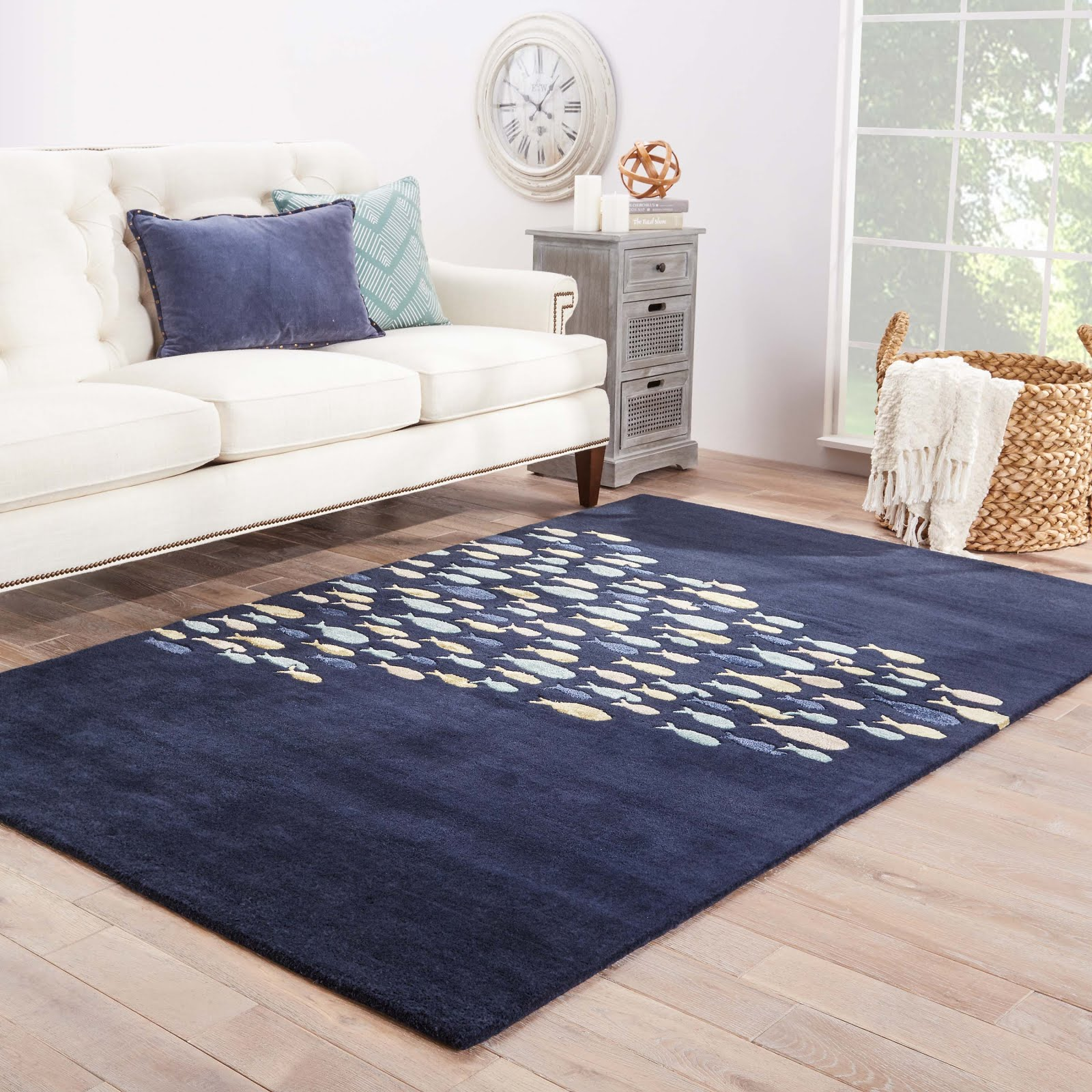 """Anchor"" Your Room with a Coastal Rug!"