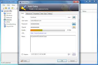 KeePass Password Safe, Security Tools Our Password