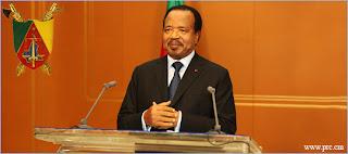 Paul Biya perdu du petit écran pendant près d'une minute dans Politique Biya-discours