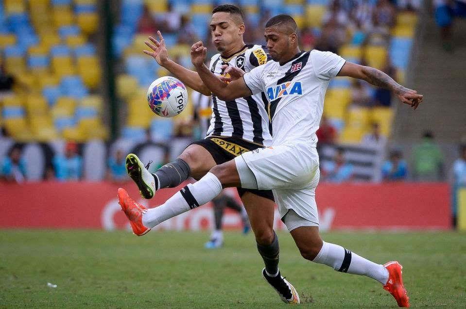 Vasco e Botafogo só empatam e o Flamengo agradece