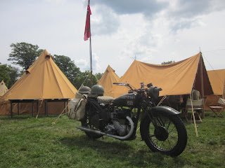 D-Day WWII Reenactment, Allied Camp British Contigent