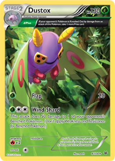Dustox Roaring Skies Pokemon Card