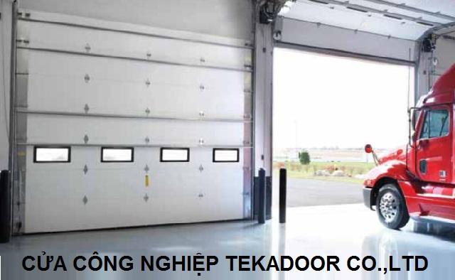Cửa cuốn cách âm cách nhiệt Overhead Doors