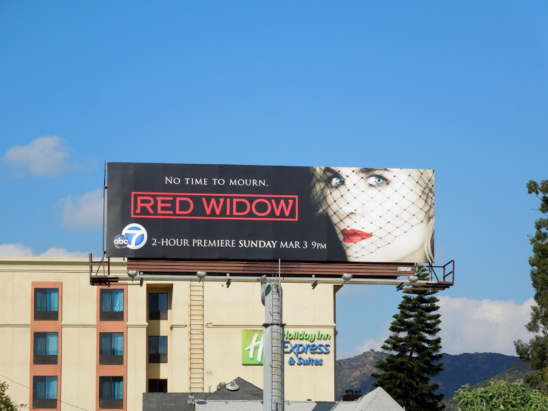 Red Widow series premiere billboard