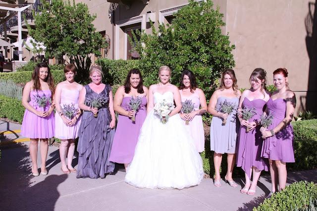 Lavender Wedding Sacramento Florist