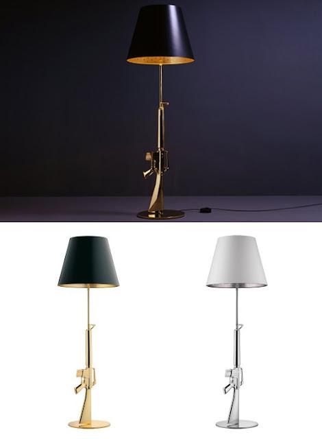 Gun Lamp Design