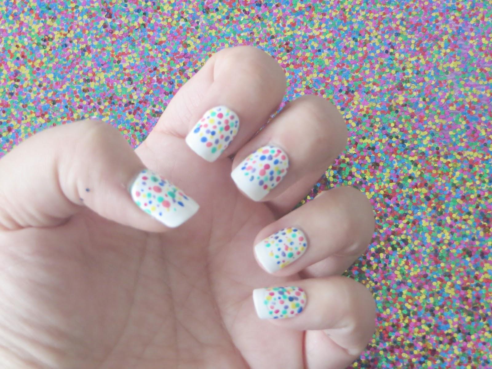 Elle Sees|| Beauty Blogger in Atlanta: Summer Week: Sprinkles Nails