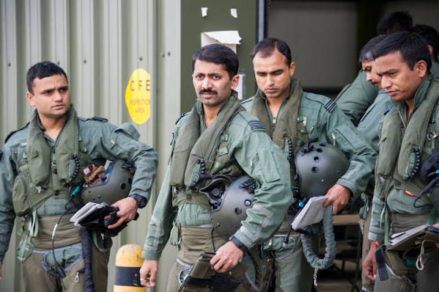 Pictures of Indian Air Force Fighter pilots
