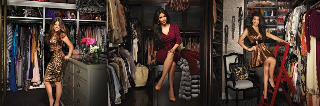 The Kardashian Sisters Have Amazing Style And Incredibly Large Closets To  Fit Their Enormous Designer Collections Of Clothes, Accessories, And Shoes.
