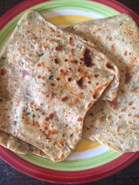 Coriander Chapati