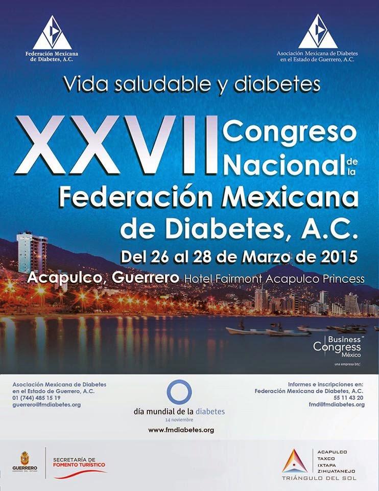 XXVII CONGRESO NACIONAL DE DIABETES, A.C.