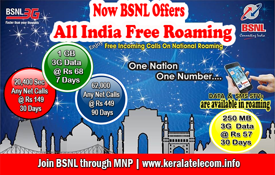 Exclusive: BSNL Kerala Circle gained 18,000 Customers through MNP on Free National Roaming Scheme