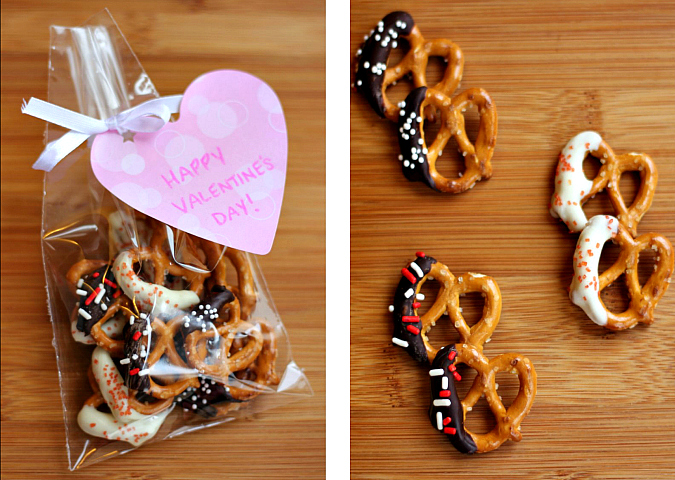 Love Laurie Chocolate Dipped Mini Pretzels For Valentine S Day