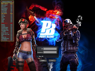 Cheat Point Blank 08-06-2012 WH + Esp + 1 Hit + Damage 20% + Acc Ct/Tero + RID DKK