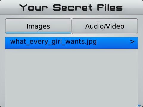 Cara Menyembunyikan File Gambar, Musik dan Video di Blackberry