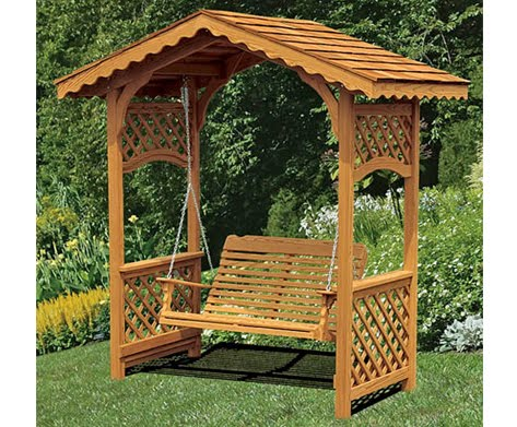 Easy Building Shed And Garage Arbor Swings Design Arbor - garden swing designs