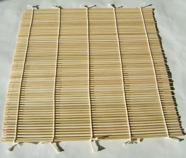 Bamboo Mat Sushi4
