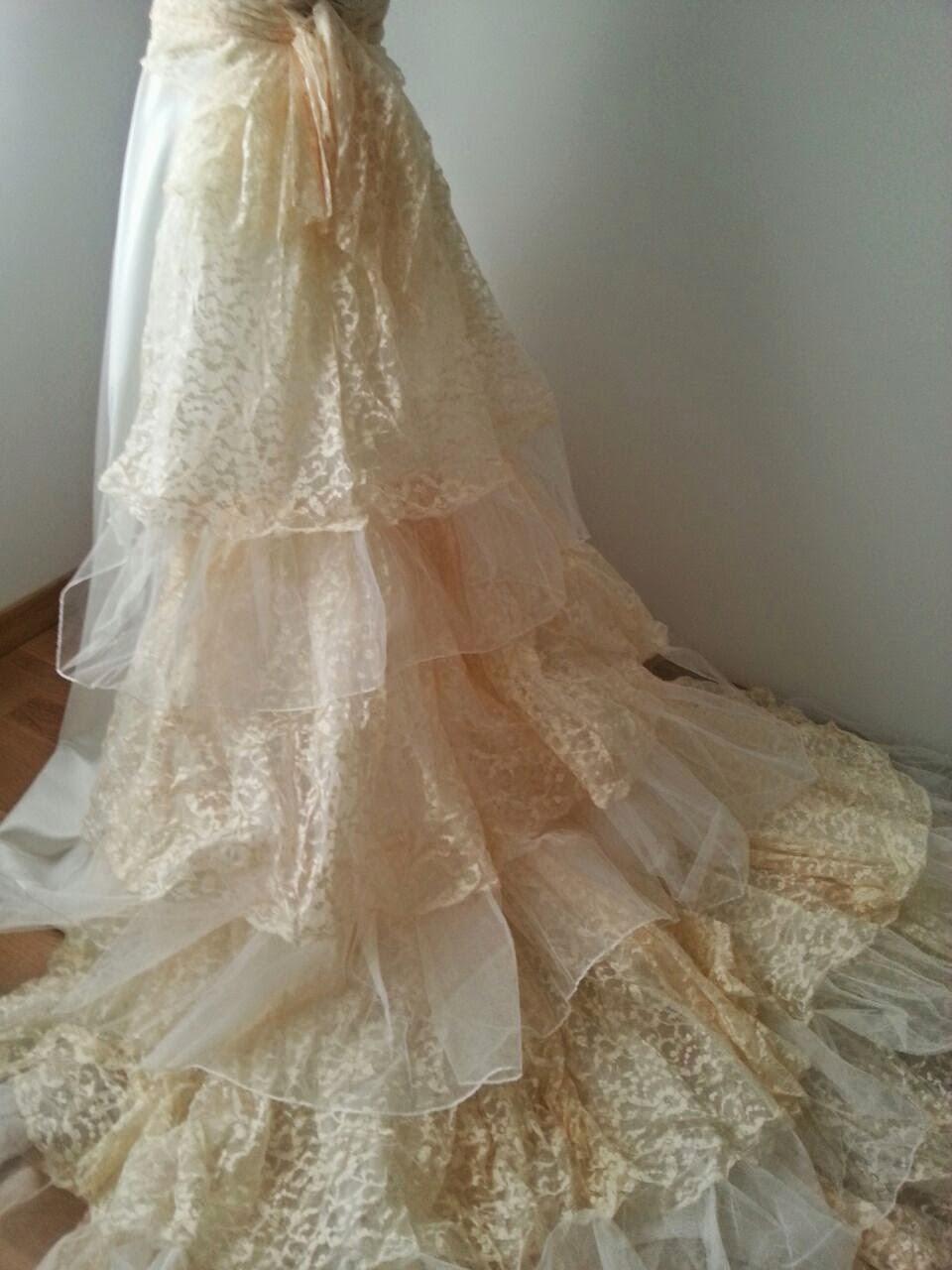 Como tenir un vestido blanco con te