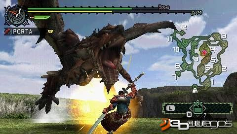 Monster Hunter Freedom [Full] [1 link] [Espa�ol] [PSP] [FS]
