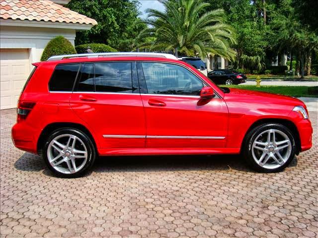 glk red mercedes glk350 - Mercedes Glk Red